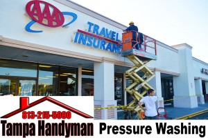 Commercial Pressure Washing (HANDYMAN SERVICES)